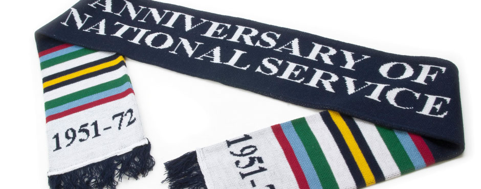 Anniversary National Service Scarf